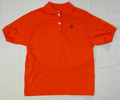 Vintage Brownie Girl Scout Polo Shirt L 16 Short Sleeve Made in USA b33