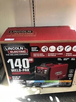 Lincoln Electric Mig Welder 140 Hd