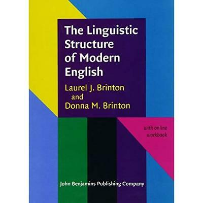 The Linguistic Structure of Modern English - Paperback NEW Laurel J. Brint 2010-