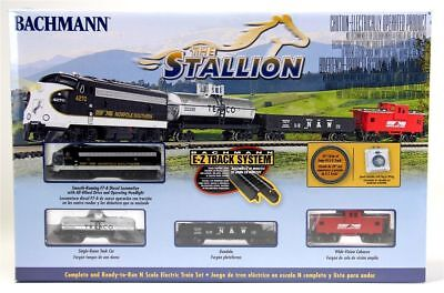 Bachmann 24025 N GUAGE Norfolk Southern F7 The Stallion Freight Set NEW.....TK