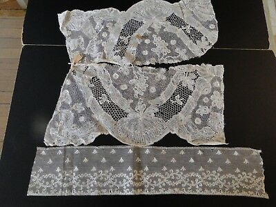 Antique Lace- Assorted Early Lace Examples