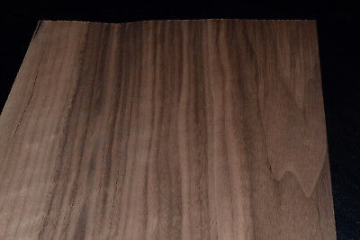Walnut Raw Wood Veneer Sheets 7.5 x 47 inches 1/42nd                    E7318-14