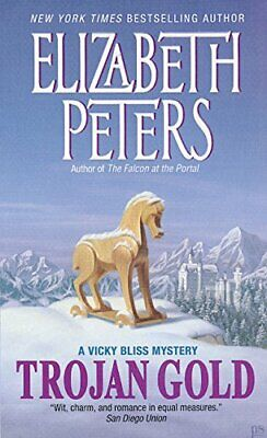 Trojan Gold (Vicky Bliss Mysteries) by Peters, Elizabeth Book The Cheap Fast