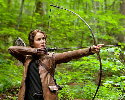 Jennifer Lawrence The Hunger Games Firing Bow And Arrow 11x17 Mini Poster