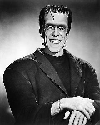 Fred Gwynne as Herman Munster head and shoulders smiling broadly 24X30 Poster