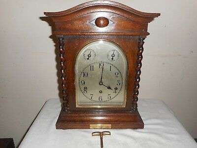 Kienzle Westminster Chimes Bracket Clock in Excellent Condition, Needs Attention