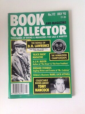 BOOK AND MAGAZINE COLLECTOR  - No 112 - The Novels of D.H. LAWRENCE