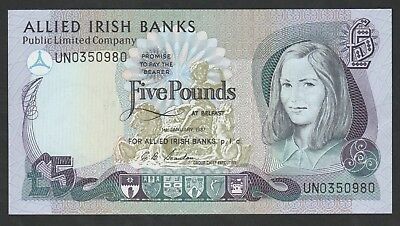5 Pounds From Ireland 1987 Unc
