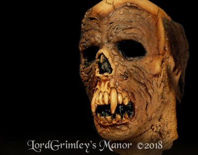 Officially Licensed Beast of Blood the Beast Latex Halloween Mask Horror Undead