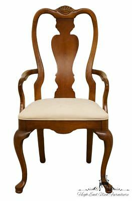 STANLEY FURNITURE Solid Cherry Queen Anne Style Dining Arm Chair 0511-70