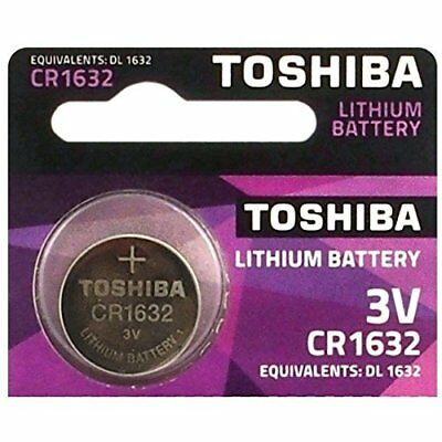 1 BATTERY Toshiba CR1632 Lithium 3V