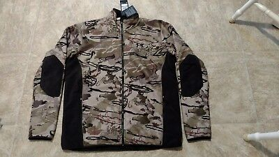 48346c0781fe8 $149.99 Under Armour Mens STEALTH FLEECE Jacket Camo Large XL XXL 2XL  Hunting