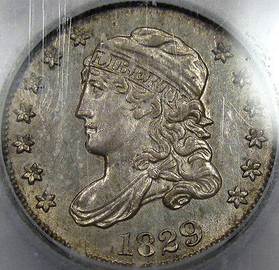 1829 Capped Bust Half Dime Choice BU ICG MS-63... So Nice and 100% Original!!