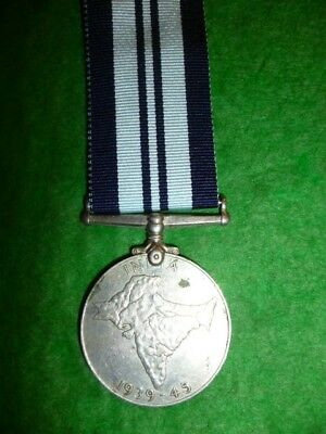 The India War Service Medal WW2 - Genuine Official issue