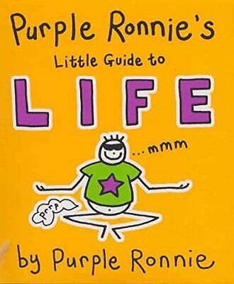 Purple Ronnie's Little Guide to Life by Andreae, Giles Hardback Book The Cheap