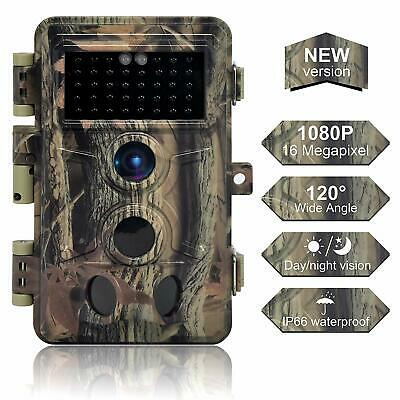 16MP 1080P Infrared Night Vision Wildlife Hunting Scouting Game Trail Camera