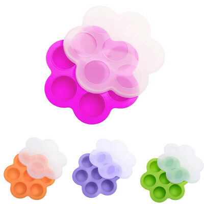 Silicone Egg Bites Molds for Instant Pot Accessories Lid Reusable Baby Food