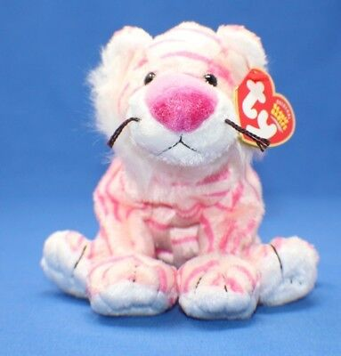 4def7e9f4ba Ty CIRCUS SERIES Beanie Baby Babies ~ MYSTIQUE the PINK TIGER ~ Plush ~  MWMTs