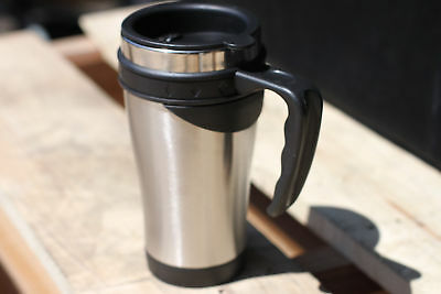 Stainless Steel Insulated Double Wall Travel Coffee Tumbler Mug Cup 16OZ