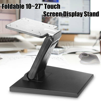 10~27'' Mounted VESA Monitor Holder Touchscreen Touch Screen Display Stand Tilt