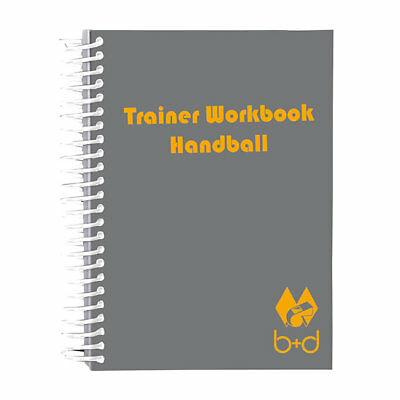 Handball Trainer Workbook v. b+d,  DIN A6, 2. Wahl
