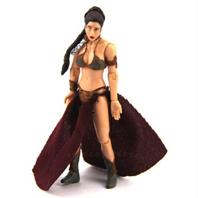 "Star Wars 2009 Legacy Collection 17 Princess Leia Jabba's Prisoner 3.75"" Figure"
