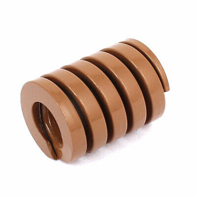 30mm OD 40mm Long Heavy Load Coil Stamping Compression Mold Die Spring Brown