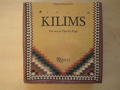 Petsopoulos: Kilims. Flat-woven tapestry rugs, 1982 (important standard work)