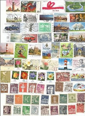 150 Different German Stamps Including Many Older Issues. Post Free.