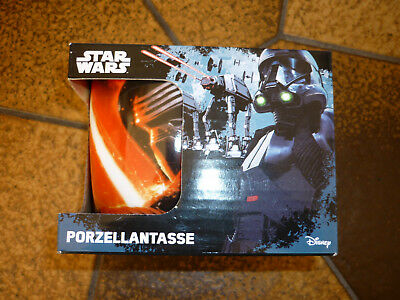 NEU ovp. Tasse STAR WARS Disney Porzellantasse