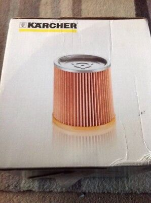 Karcher Filter For Wet & Dry Vacumning 6.414-354.0 New Boxed