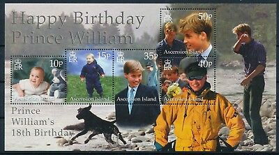 [HG20828] Ascension Islands 2000 : Prince William - Good Very Fine MNH Sheet