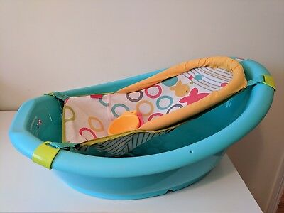Rinse And Grow Fisher Price 3 In 1 Newborn To Toddler Safety Sling Baby Bath Tub