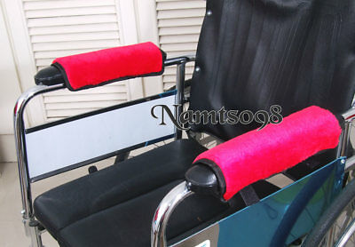Office Chair Wheelchair arm rest elbow pads cover replacement Protector/Set of 2