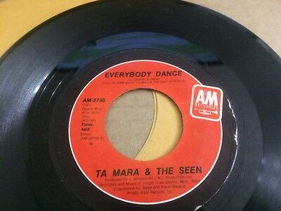 Ta  Mara And The Seen Everybody Dance ~ Lonely Heart V 45 7 Q