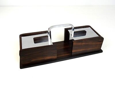 Rare Original French Art Deco Palisander Jewelry Box By Jaques Adnet 1925