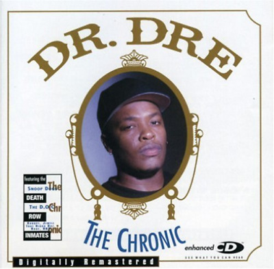 DR. DRE-The Chronic (Clean Version) CD NEW