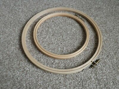 Elbesee Wooden Embroidery Hoop Size 8 Inches Ideal for Any Needlework