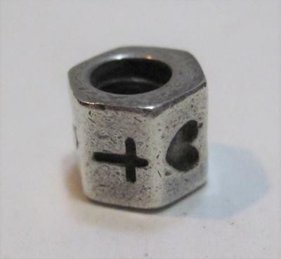 Authentic 925 ALE Pandora Sterling Silver Cross Heart Anchor Charm