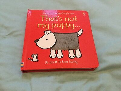 Usborne Touchy-Feely Books Thats Not My Puppy Book - Brand New RRP £6.99