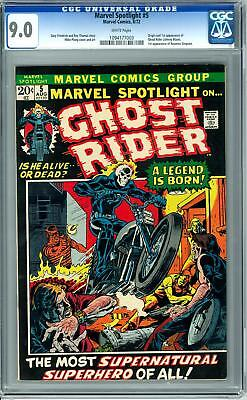 Marvel Spotlight #5 CGC 9.0 (W) Origin & 1st Appearance of Ghost Rider