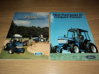 Ford Series 10 Tractor Brochures Compact Tractors (Massey Ferguson)