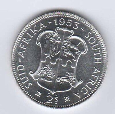 1953 South Africa Proof 2 Shillings  bk12