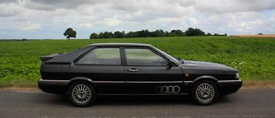 Audi Coupe Quattro, 2.2L, 1986. 65,000 miles with a good supporting history.