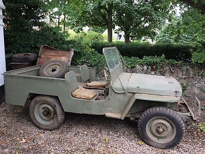 Willys MB Jeep 1942 MB WW2 Jeep Complete and Original Barn Find