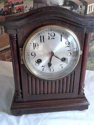 Edwardian Antique Bracket clock in excellent restored condition
