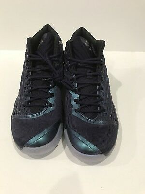 the latest 39f94 7950e Nike Air Jordan Melo M13 Purple Dynasty Metallic Silver 881562-505 Men s SZ  12