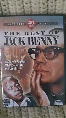 """THE BEST OF JACK BENNY"" 40-Episode Collection Television Classics 2007 4-Disc"