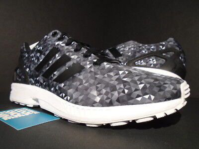 size 40 ecc08 8d319 Adidas Zx Flux Monochrome Prism Ultra Boost Black White Grey B24394 Nmd New  10.5