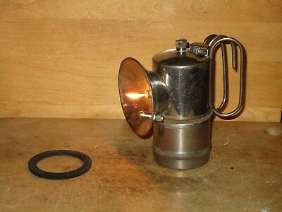 "Miners ITP ""IT'S TROUBLEPROOF"" Float Feed CARBIDE LAMP"